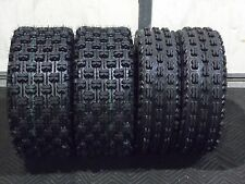 NEW COMPLETE ( SET 4 ) 22X7-10 , 22X10-10 SPORT QUADKING ATV TIRES Front & Rear