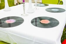 Retro - Vintage Rock n Roll Wedding - LP Records Place mats / Party