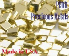 14 K Yellow Gold Chip Solder, 1 x 1 mm, Easy , 1  pennyweight, (1.55 grams)