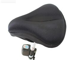 Antislip Thick Soft Gel Bike Bicycle Cycling Saddle Seat Cover Cushion Pad WB