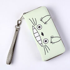 Studio Ghibli My Neighbour Totoro Figure PU Wallet Purse Bag Pocket Pounch New
