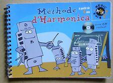 L'harmonica méthode à partir de 4 ans que le livret pas de CD /H21