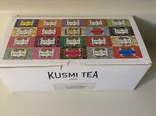 Kusmi Tea Paris  Organic Darjeeling Black Tea  - Box of 50 Tea Bags
