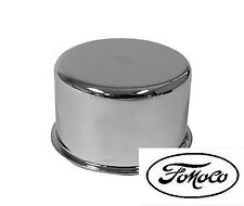 NEW! 1965-1966 FORD MUSTANG Chrome Oil Cap With FoMoCo Logo Falcon Bronco