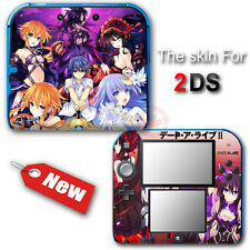 Date A Live Popular Cartoon Skin Sticker Decal Cover #2 for Nintendo 2DS