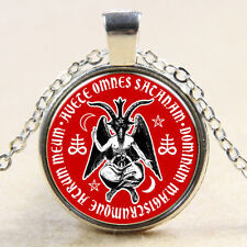 Baphomet witchcraft pendant wonderful necklace   Necklace     DD +  255