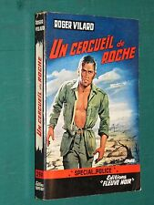 """Un cercueil de roche Roger VILARD """"Fleuve Noir"""" spécial police 294 EO"""