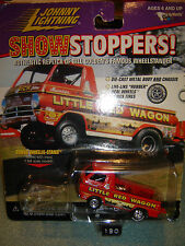 JOHNNY LIGHTNING SHOW STOPPERS LITTLE RED WAGON 1/64