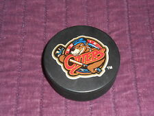 ERIE OTTERS GAME PUCK LATE 1990'S