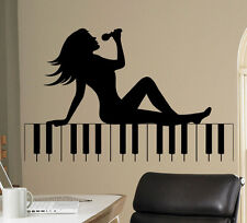 Music Piano Vinyl Decal Musical Vinyl Stickers Home Interior Window Sticker 24