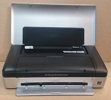 HP OfficeJet 100 Mobile Portable Bluetooth USB InkJet Printer Warranty NO INK/PS