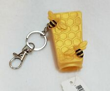 1 Bath Body Works GOLD HONEYCOMB Bee Pocketbac Holder Case Sanitizer Sleeve