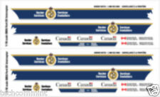 1:18 DECALS CBSA CANADA BORDER SERVICES MOTORMAX FORD CROWN VICTORIA