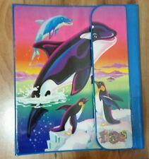 Lisa Frank Max Splash Orca Tri Fold Binder