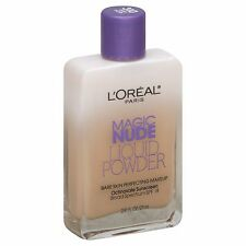 Loreal Magic Nude Liquid Powder Bare Skin Perfecting Makeup, 310 Light Ivory!