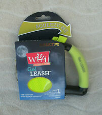 Wigzi Retractable Reflective Gel Leash For Dogs Up To 110 Pounds ~ NEW