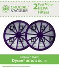 2 Dyson DC07, DC14 Purple Post-Motor HEPA Filters, Part # 901420-02