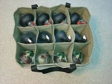 12 Pocket Standard to Magnum Size Duck Custom Decoy Bag NEW, 3 Rows of Decoys