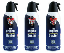 3 x Dust Off - The Original Compressed Duster 300ml / Gaming / PC / Keyboard