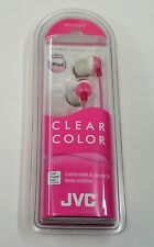 JVC HA-FX22-R In-Ear Earphones Headphone Standard mini Headphone Jack Pink