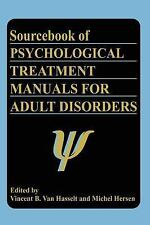 Sourcebook of Psychological Treatment Manuals for Adult Disorders (Subcellular B