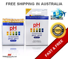 100 pH Test Strips wide range urine/saliva body health litmus acid alkaline diet