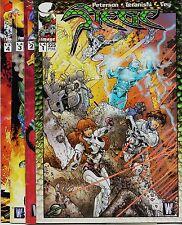 SIEGE de Brandon Peterson, serie limitada WILDSTORM Colección completa.