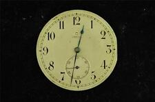VINTAGE OMEGA 38.3MM HUNTING CASE POCKET WATCH MOVEMENT FOR REPAIR
