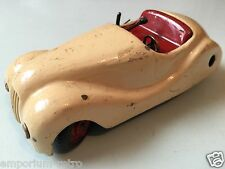 vintage old clockwork radio car jibby made in switzerland for restoration