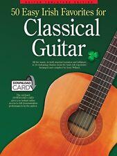 50 Easy Irish Favorites for Classical Guitar Sheet Music Guitar Tablat 014043322