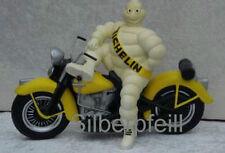 Deko Figur Michelin Männchen auf Harley Davidson Groß Werbefigur Motorbike  Rep