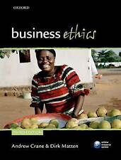 Business Ethics: Managing Corporate Citizenship and Sustainability in the Age o…