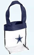 NFL Dallas Cowboys Clear Tote Bag Stadium Approved
