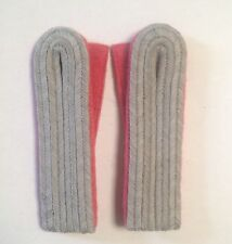 GERMAN ARMY LEUTNANT shoulder Boards PANZER for uniform tunic A PAIR