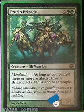 Ezuri's Brigade MTG Scars of Mirroden Lightly Played Free UK P&P