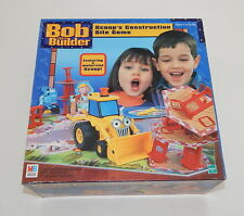 Bob the Builder Scoop's Construction Site Board Game Complete  R11341