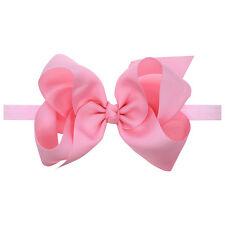 Pink Accessories Headwrap Baby Kids Girls Bunny Hairband Turban Bow Knot