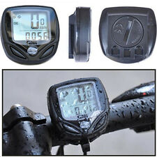 LCD Wireless Bike Computer Speedo Odometer Speedometer Cycle Bicycle 14 Function
