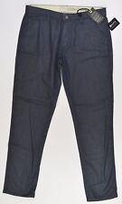 Matix UNION  Mens Classic Taper Fit Denim Pants Size 34X33 Raw Denim NEW