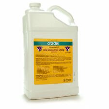 CYDECTIN ORAL DRENCH FOR SHEEP 1 mg Moxidectin Dewormer Adult and Larval 4 Liter