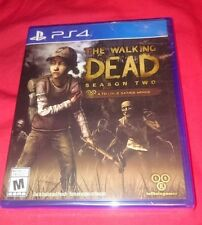 BRAND NEW SEALED Telltale Games The Walking Dead Season 2 Two PS4 Playstation 4!