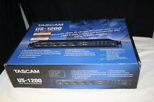 TASCAM US-1200 USB AUDIO INTERFACE 6 IN 2 OUT WITH DSP MIXER - SUPERIOR SOUND!