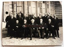 PHOTO MANUEL CABINET MINISTERIEL RIBOT 1914 MINISTRES A314