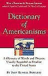 Dictionary of Americanisms: A Glossary of Words and Phrases, Usually R-ExLibrary