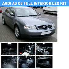FULL INTERIOR LED Bulbs KIT ROOF 12V WHITE for Audi A6 S6 RS6 (C5) 1997-05