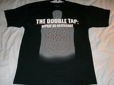The Double Tap Repeat as Necessary Ranger Up Black T-shirt Men's Large used