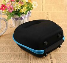Portable Carrying Hard Case Storage Bag box For Headset Earphone Headphone Black