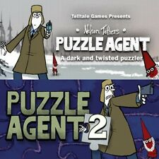 Puzzle agent 1 & 2-steam cd-key digital [pc et mac] instant delivery