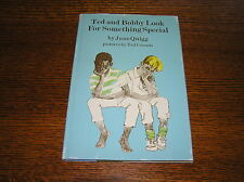 TED AND BOBBY LOOK FOR SOMETHING SPECIAL by Jane Quigg RARE Vintage Book