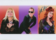 The B 52´s Autogramme signed 20x30 cm Bild